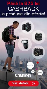 Promotie Cashback Canon