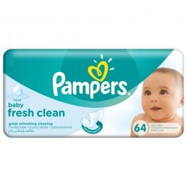 Servetele umede PAMPERS Baby Fresh Clean, 64 buc
