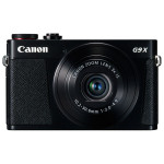 Camera foto digitala CANON PowerShot G9 X, 20.2Mp, 3x, 3 inch, Black