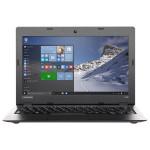 "Laptop LENOVO IdeaPad 100S, Intel® Atom™ Z3735F pana la 1.83GHz, 11.6"" HD, 2GB, 64GB eMMC, Intel® HD Graphics, Windows 10, argintiu"