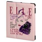 Husa de protectie tip stand ELLE Lady in Pink 104671 pentru iPad Air, roz
