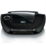 Radio CD PHILIPS AZ1837, 2W, CD, MP3, WMA, negru