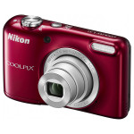 Camera foto digitala NIKON Coolpix L31, 16.1 Mp, 5x, 2.7 inch, rosu