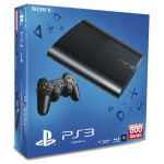 Consola SONY PS3 Slim 500GB, Blu-ray, neagra