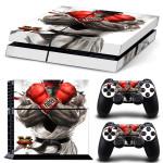Street Fighter V – Official Licensed PS4 Console Vinyl Sticker Kit, RYU Gloves