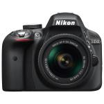 Camera foto DSLR NIKON D3300 + obiectiv AF-P 18-55mm VR , 24.2 Mp, 3 inch, negru