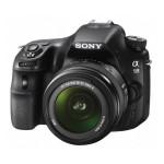 Camera foto digitala DSLR SONY SLT-A58K cu obiectiv 18 - 55 mm II, 20.1 Mp, 2.7 inch, negru