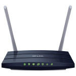 Router Wireless TP-LINK Archer C50 AC1200, Dual-Band 300 + 867 Mbps, WAN, LAN, USB 2.0, albastru