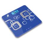 Cantar de persoane cu analiza corporala MYRIA B808, electronic, 180kg, afisaj LCD, albastru