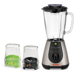 Blender TEFAL BlendForce Tripl'Ax BL313A, 1.75l, 500W, mini tocator, rasnita, 2 viteze