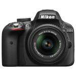 Camera foto digitala NIKON D3300 18-55 VR II, 24.2 Mp, 3 inch, negru