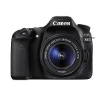 Camera foto digitala CANON EOS 80D + obiectiv EF-S 18-55mm IS USM