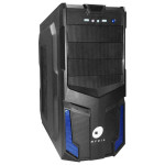 Sistem IT MYRIA Vision 001, Intel® Core™ i5-4460 pana la 3.4GHz, 8GB, 1TB, NVIDIA GeForce GTX 960 2GB, Free Dos