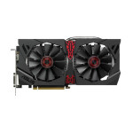 Placa video ASUS AMD Radeon R9 380, STRIX-R9380-DC2-2GD5-GAMING, 2GB GDDR5, 256bit