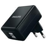 Incarcator de retea PHILIPS DLP2209/12, 2 porturi USB, 5V, 1A