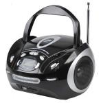 Radio CD portabil TELETECH DV-350BK, USB, negru