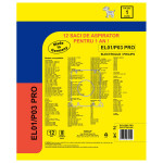 Set 12 saci de aspirator WORWO EL01/P03 Pro