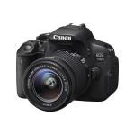 Camera foto digitala CANON EOS700D + obiectiv EF 18-55mm DC III, 18 Mp, 3 inch, negru