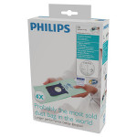 Set 4 saci de aspirator PHILIPS Anti-Alergii FC8022/04