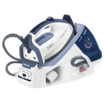 Statie de calcat TEFAL Easy Control GV7550, Ultragliss, 1.7l, 5.2 bar, alb - albastru