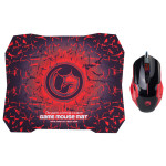 Kit mouse si mousepad MARVO M416 + G1