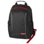 """Rucsac laptop MYRIA HH1322RD, 15.6"""", negru-rosu"""