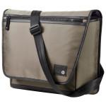 "Geanta laptop HP Messenger (H5N57AA), 15.6"", textil, maro"