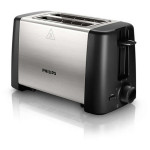 Prajitor de paine PHILIPS Daily Collection HD4825/90, 800W, negru - argintiu
