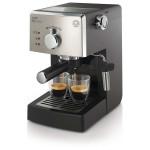 Espressor SAECO Poemia HD8425/19, 1.25l, 950W, 15 bar, negru - argintiu