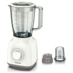Blender PHILIPS Daily Collection HR2102/00, 2 + Impuls, 400W, alb