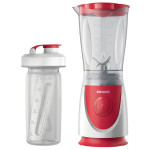 Mini blender PHILIPS Daily Collection HR2872/00, 2 viteze, 350W, alb