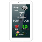 Tableta ALLVIEW Viva i7G, Wi-Fi + 3G, Quad Core Intel® Atom™ x3 1.0GHz, 8GB, 1GB, Android Lollipop 5.1, alb