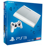 Consola SONY PS3 Slim 500GB, Blu-ray, alba