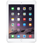 "Apple iPad Air 2 64GB Wi-Fi + 4G Ecran Retina 9.7"", A8X, Silver"