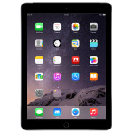 "Apple iPad Air 2 64GB Wi-Fi Ecran Retina 9.7"", A8X, Space Gray"