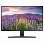 """Monitor LED SAMSUNG LS27E510CS, 27"""" Curved, Full HD, negru"""