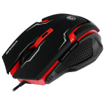 Mouse gaming MARVO M319, 2400 dpi, negru-rosu