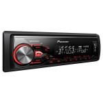 Radio MP3 auto PIONEER MVH-X380BT, 4x50W, USB, Bluetooth, iluminare rosie