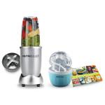 Blender DELIMANO Nutribullet Frozen Editie Speciala, cadou aparat de inghetata + carte 101 retete