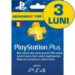 PlayStation Plus Membership (90 zile) RO PS3 / PS4 / PS VITA