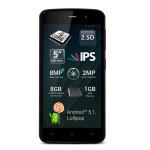 "Smartphone Dual Sim ALLVIEW P6 Lite, 5"", 8MP, 1GB RAM, 8GB, Quad Core, 3G, Brown"