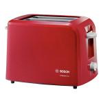 Prajitor de paine BOSCH CompactClass TAT3A014, 980W, rosu