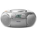 Radio CD Soundmachine, PHILIPS AZ127/12, argintiu