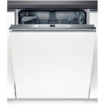 Masina de spalat vase incorporabila BOSCH SilencePlus ActiveWater SMV43M30EU, 13 seturi, 4 programe, 60 cm, A++, alb