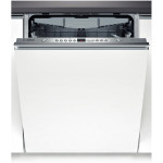 Masina de spalat vase incorporabila BOSCH SuperSilence ActiveWater SMV58L70EU, 13 seturi, 5 programe, 60 cm, A++, alb