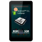 Tableta ALLVIEW Viva C701, Wi-Fi, Quad Core Cortex A7 1.2GHz, 8GB, 1GB DDR3, Android 5.1 Lollipop, negru