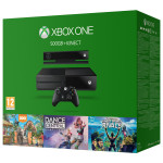 Consola Xbox One 500 Gb+ Kinect Senzor + 3 jocuri descarcabile (Kinect Sports Rivals, Zoo Tycoon , Dance Central ) - Cod Download