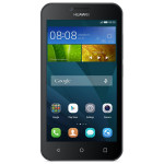 "Smartphone HUAWEI Y5, 4.5"", 5MP, 1GB RAM, 8GB, 4G, Quad-Core, Black White"