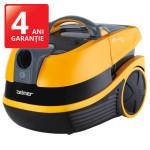 Aspirator cu spalare ZELMER Aquawelt Plus ZVC762ZP, wet&dry, 2.5l, 1500W, portocaliu